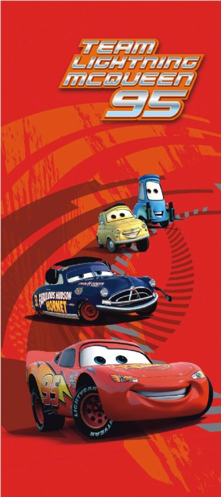 Disney Cars Red mural wallpaper 90x202cm